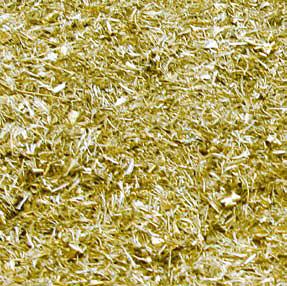 Brass swarf